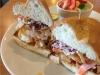 Shrimp Poor Boy Sandwich